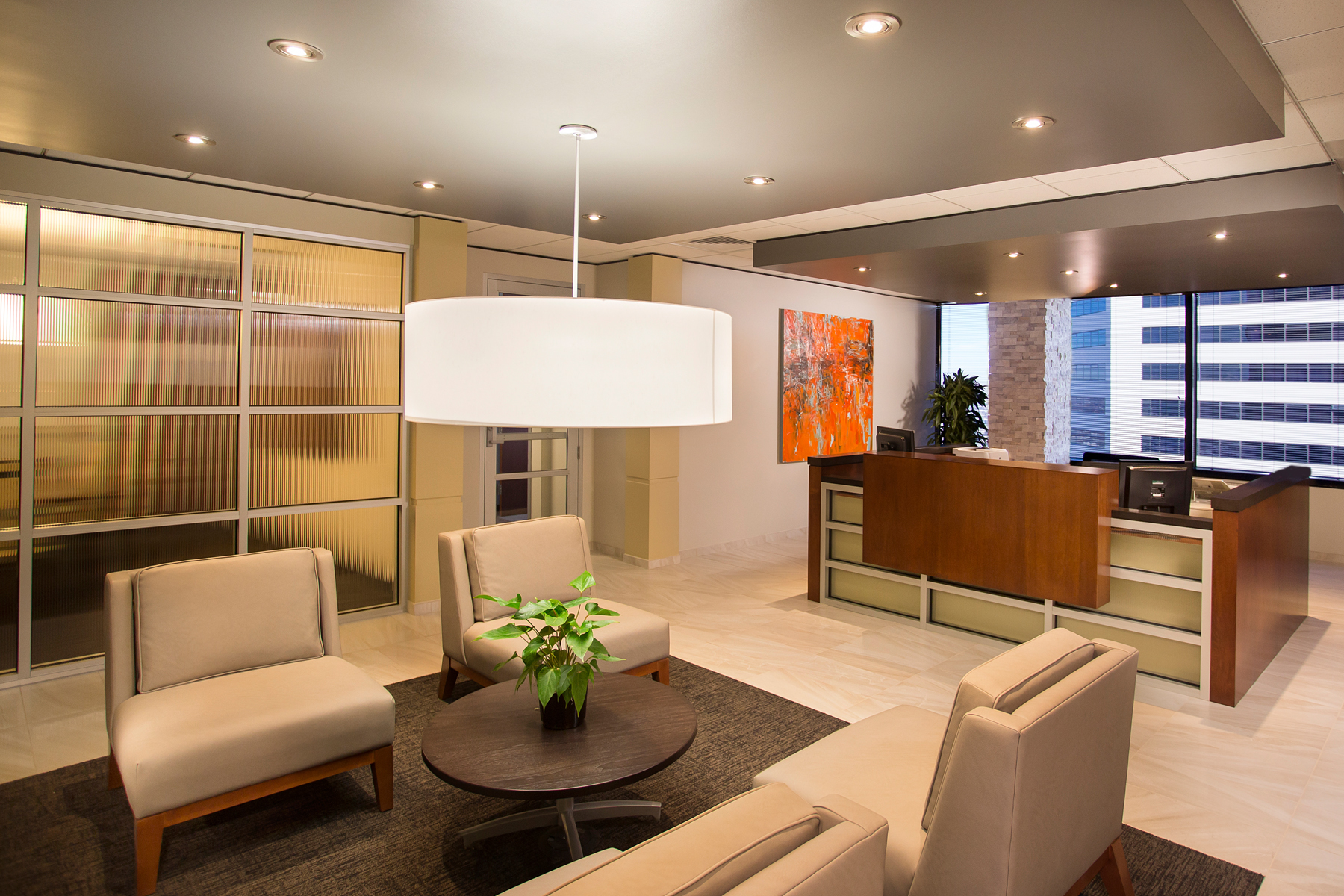 Colorado Office Remodel Company Bank of the West