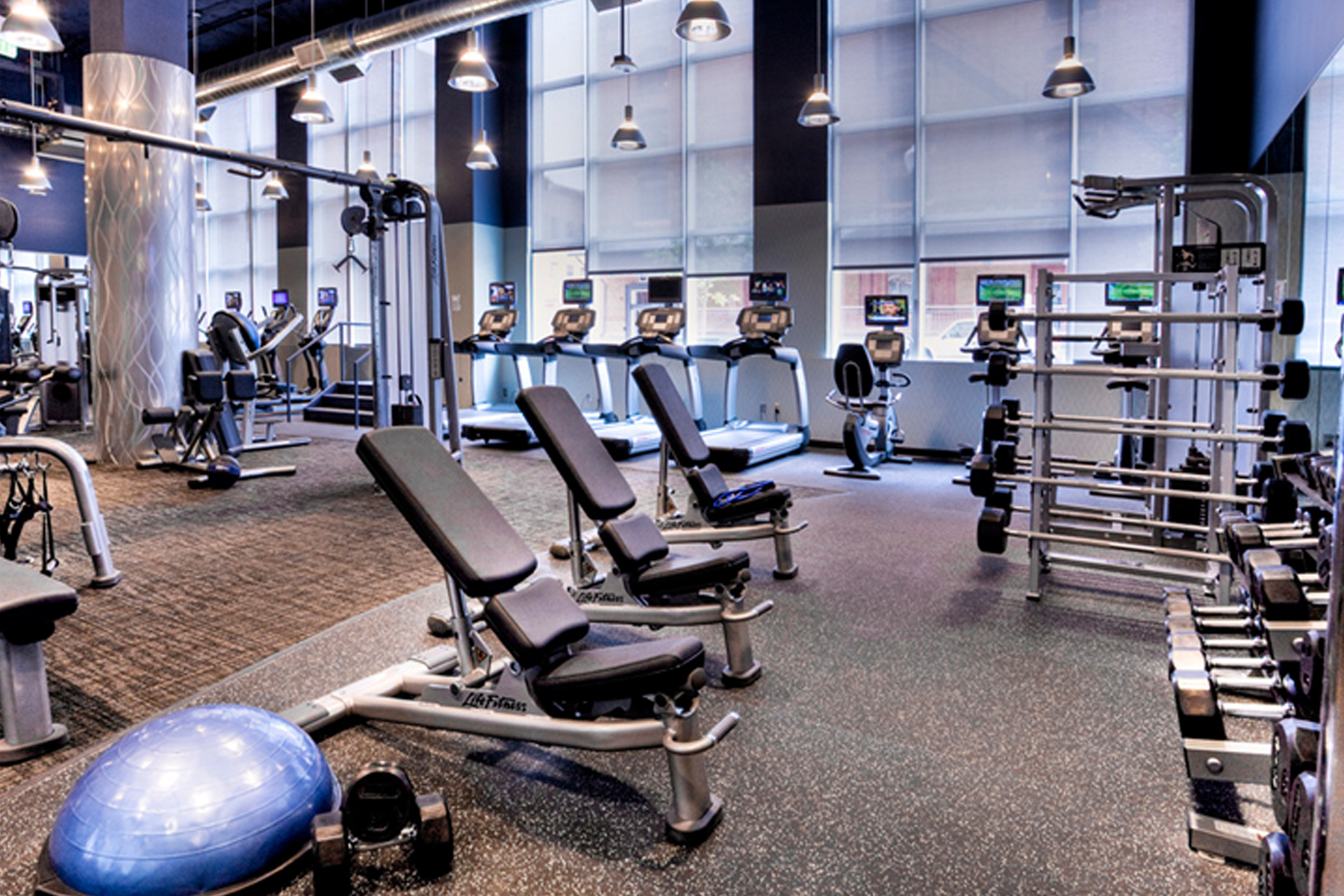 Fitness Center Construction, Denver Colorado- Jordy Construction 1