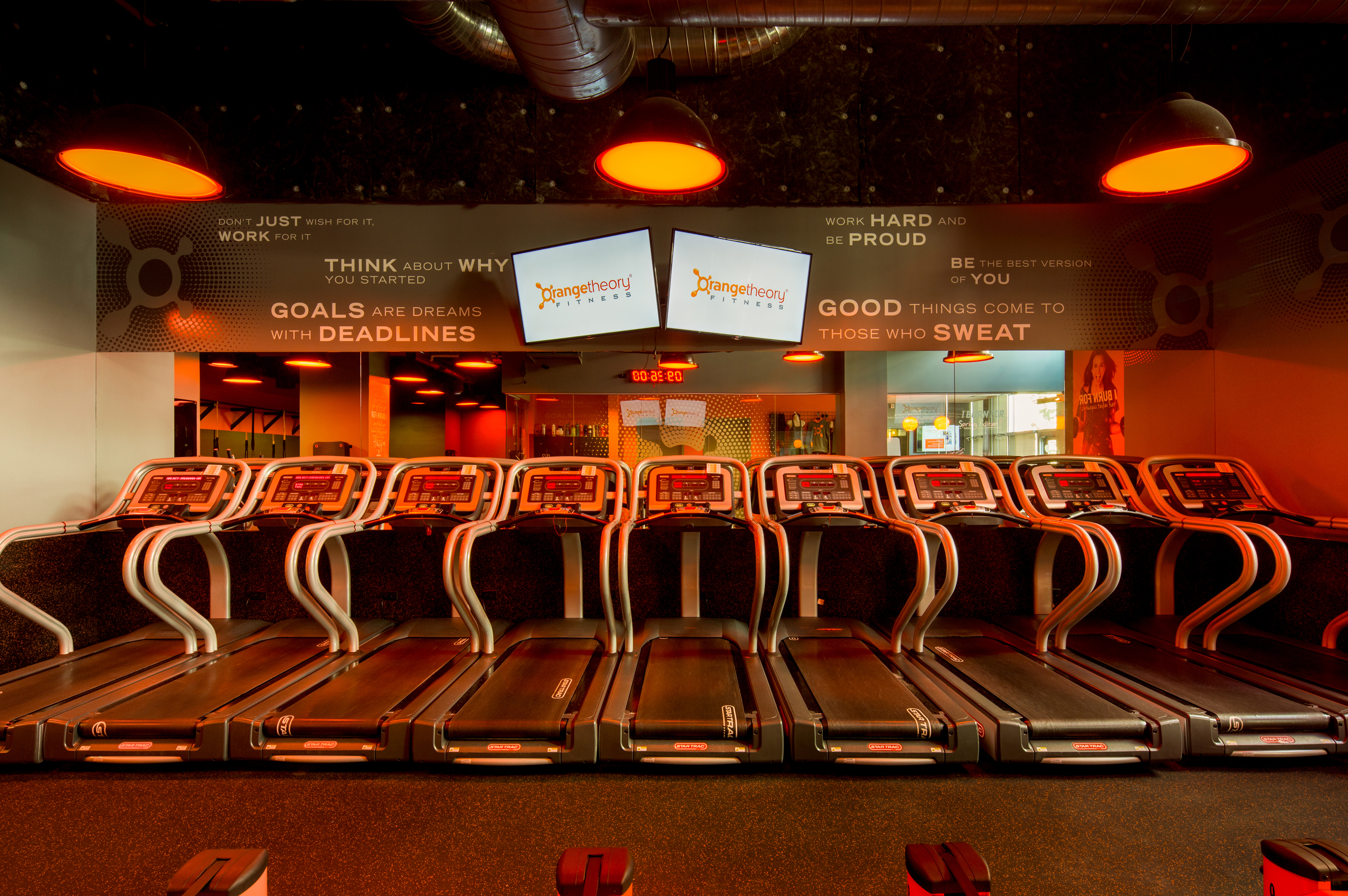 Fitness Center Buildout, Denver Colorado- Jordy Construction Orange Theory 3