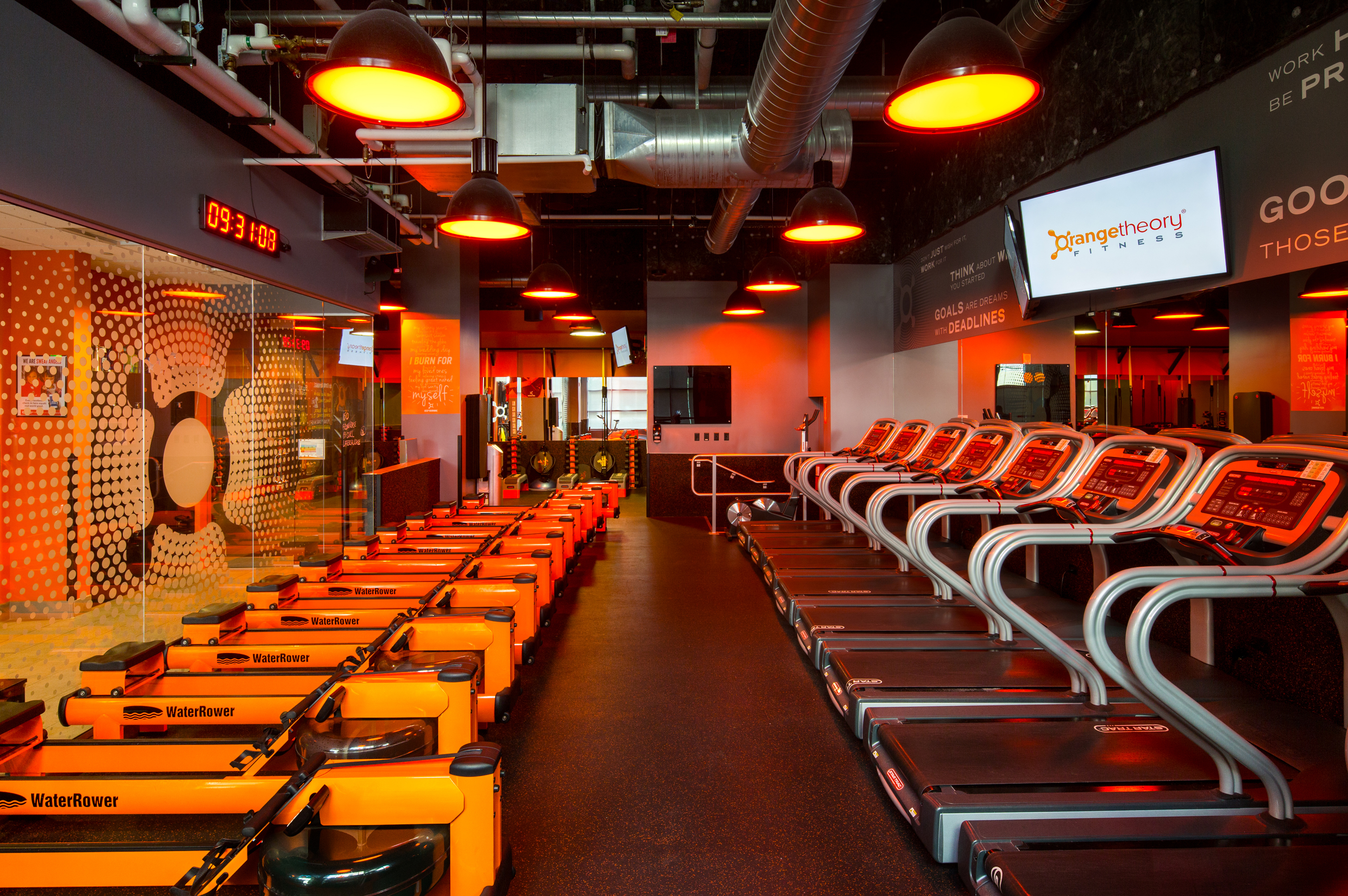 Fitness Center Buildout, Denver Colorado- Jordy Construction Orange Theory 2