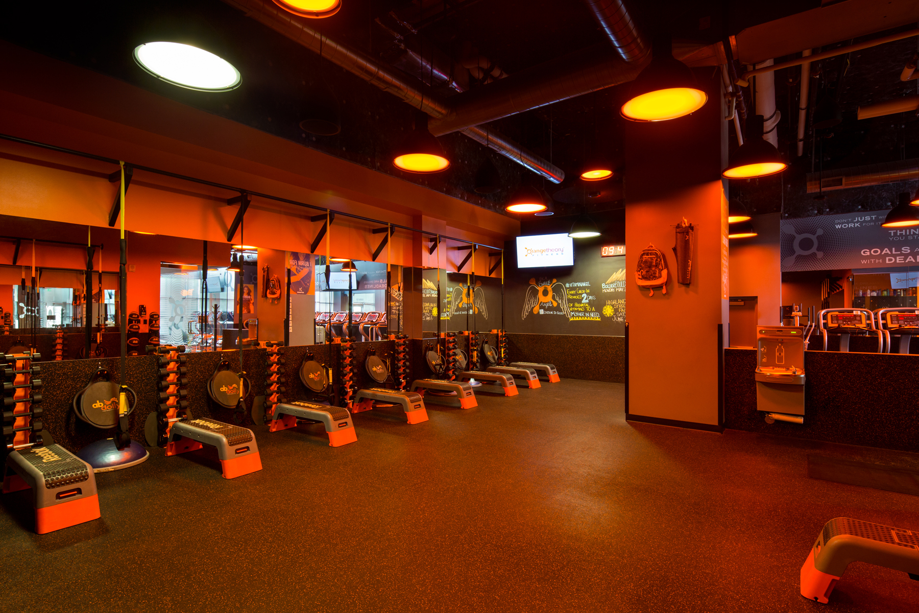 Fitness Center Buildout, Denver Colorado- Jordy Construction Orange Theory 4