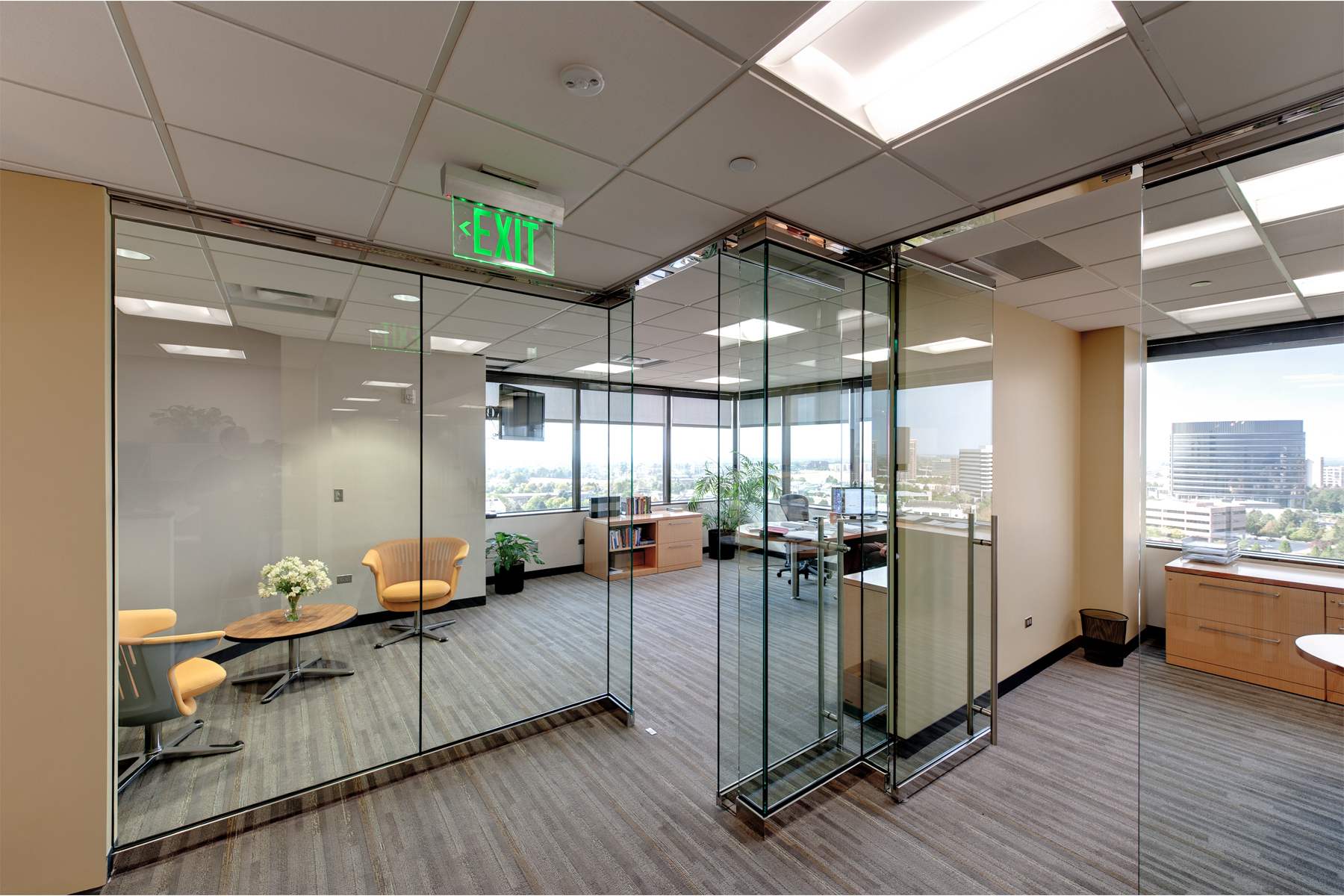 Denver Office Remodel, Colorado- Jordy Construction 2