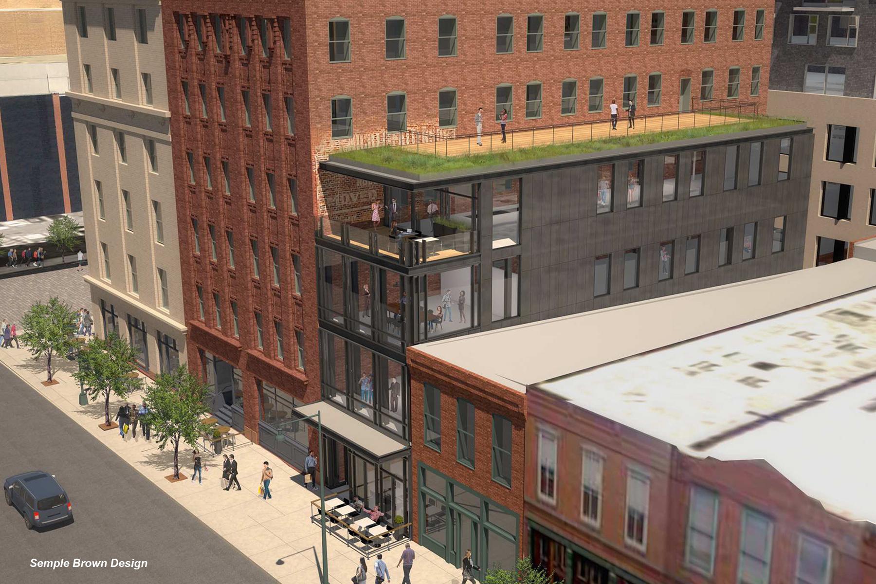 New Building Construction For SugarSquare, Denver Colorado