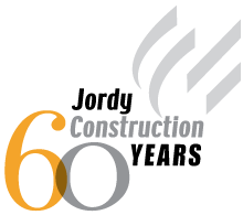 Jordy Construction 60th Anniversary